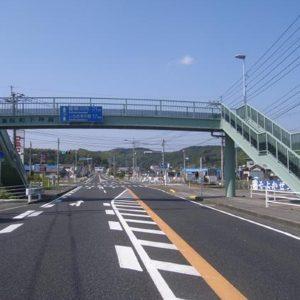 下神殿横断歩道橋